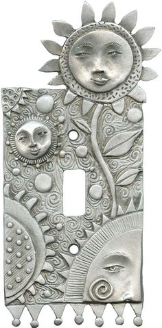 Flower Faces Light Switch Plates, Outlet Covers, Wallplates