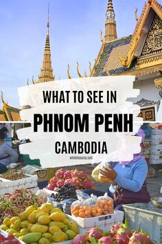 Click for a guide to what to do in Phnom Penh, Cambodia's metropolis. Get ideas for places to visit including the museums, Royal Palace and more hidden gems you can reach by river. You need to read this if you're planning to travel in Cambodia! The guide includes info about where to stay, how to get to Phnom Penh and some of the most popular tours and excursions. #PhnomPenh #Cambodia #travel #Photography #markets #river #views #ThingsToDoInPhnomPenh #food #bars #restaurant Cambodia Itinerary, Cambodia Beaches, Cambodia Travel, Laos, Luang Prabang, Travel Guides, Travel Tips, Backpacking Asia, Food Bars