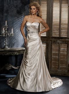 Large View of the Scarlet Bridal Gown  - Maggie Sottero
