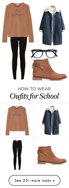 """""""Old school"""" by caitlyn-g-s on Polyvore featuring Lucky Brand, New Look and Lingua Franca"""