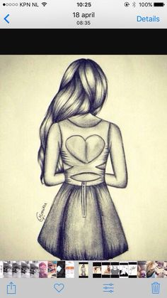 Related image my drawings, drawings of people easy, drawings of dresses, hipster drawings Girl Drawing Sketches, Girly Drawings, Art Drawings Sketches Simple, Amazing Drawings, Pencil Art Drawings, Beautiful Drawings, Cool Drawings, Beautiful Images, Amazing Art