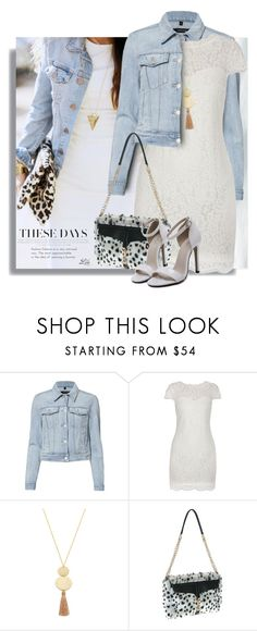"""""""Dresses Under $100"""" by breathing-style ❤ liked on Polyvore featuring J Brand, Morgan, Gorjana and Buxton"""