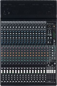 Mackie Onyx 1640i Firewire Recording Mixer. This is the core of my studio.Great sound and flexibility. Either recording or mixng.