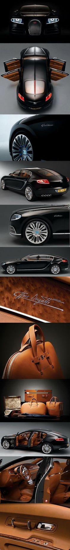 Bugatti Galibier desde todos los angulos