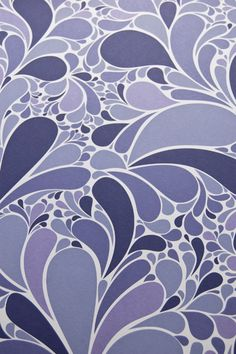 Movement in Purple by Brainstorm Print and Design (via my new favorite blog, happy mundane http://www.happymundane.com/2010/11/ocean-by-brainstorm/)