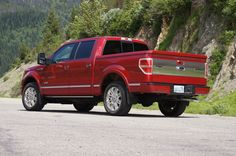 I soo want this truck!  Ford F150 Platinum