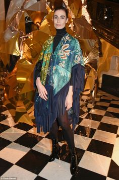 Erin O'Connor at event in London