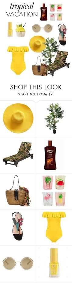 """Sans titre #32"" by jessica-fournier-i ❤ liked on Polyvore featuring Improvements, Patricia Nash and Dolce&Gabbana"