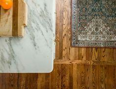 Old Wood Floors, Oak Hardwood Flooring, Vinyl Flooring, Rosin Paper, Easy Kitchen Updates, Best Kitchen Layout, White Cape, Jackson Heights, House
