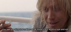 Las etiquetas más populares para esta imagen incluyen: the boat that rocked, rhys ifans, rock and roll, rock n roll y pirate radio Music Do, Good Music, The Boat That Rocked, Richard Curtis, Movie Reels, Rock Quotes, Favorite Movie Quotes, Best Vibrators, Make Sense