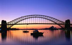 sydney harbour, australia, beauti defin, bridg, travel