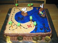Cute cake pirate