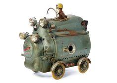 ʂŧɘąɱ ~ Steampunk Toybox ~ Stephane Halleux - Sculptures