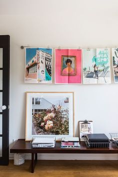 This Blogger's Brand-New L.A. Home Is Impossibly Dreamy #refinery29  http://www.refinery29.com/2015/09/94026/sf-girl-by-bay-blog-home-tour#slide-23  Smith hung prints of her own Instagram images (printed by Parabo Press)....