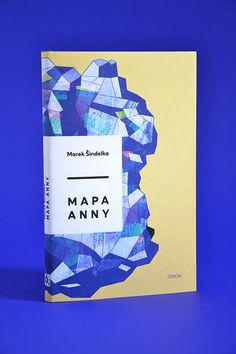 Mapa Anny by Marek Sindelka.  Cover Illustration by Nikola Klímová