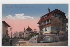 Alte Ansichtskarte Darmstadt, Künstlerkolonie Villa Olbrich