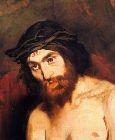 "Edouard Manet: ""The head of Christ"", 1864."