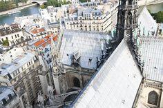 Above Notre Dame, by Farfelue Paris