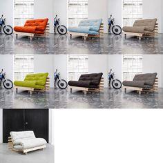 Puedes elegir entre siete colores de futón.