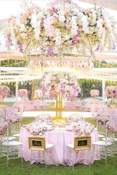 100+ Must-Have Wedding Photos (Ideas Gallery & Tips) ❤️ must-have wedding photos tender pink reception table weddingmagazine ❤️ See more: http://www.weddingforward.com/must-have-wedding-photos/ #wedding #bride #weddingdecorations #weddingdecor
