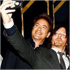 Robert Downey Jr et Norman Reedus [Photo du jour]