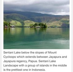 Lake Sentani-Papua Indonesia.