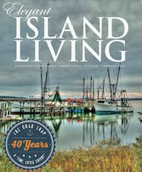 February 2015 cover - celebrating 40 Years of The Crab Trap.