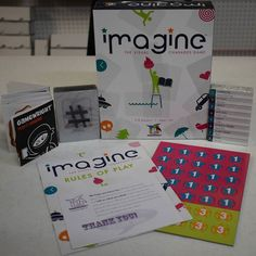 Newly Opened Game: Imagine! By Gamewright! #boardgames #unboxing