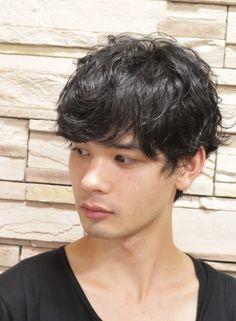 【外国人風】ショートパーマスタイル(髪型メンズ)