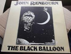 JOHN RENBOURN THE BLACK BALLOON ITALIAN PRESSING 1979 TRANSATLANTIC EXCELLENT