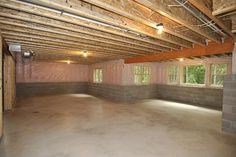 Daylight basement ideas on pinterest basements basement Walkout basement windows