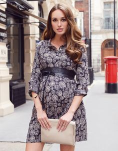 Printed Woven Maternity Shirt Dress   Seraphine    For Maternity Inspiration, Shop  here >> http://www.seraphine.com/us Maternity clothes   maternity style   pregnancy fashion    maternity fashion first trimester   pregnant   mom to be   bump style   Baby Bump   Expecting Mom   Fashion   Mom   Maternity   Style   Mom