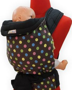 NEW! Palm & Pond Mei Tai Baby Sling - Chocolate Spots Pattern   £23.99 on Daisy Baby Shop