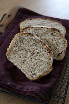Pracownia Wypieków: Najłatwiejszy chleb żytni Bread Recipes, Cake Recipes, Vegan Junk Food, Vegan Sushi, Vegan Baby, Vegan Pancakes, Vegan Smoothies, Vegan Kitchen, Asian Cooking