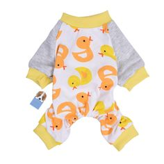 Oshide Pet Dog Clothing Lovely Duck Pattern Puppy Shirt Pajamas Home Sleep Wear Warm Night Jumpsuit, XS - XL ** You can get additional details at the image link. (This is an affiliate link and I receive a commission for the sales)