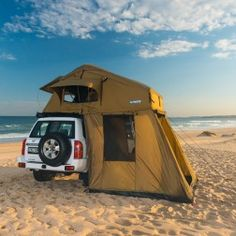 """Adventure Kings Roof Top Tent with Annex """"TOURER""""  - Pre-order for mid July delivery"""