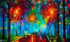 Resultado de imagen para paisajes para pintar en acuarela faciles