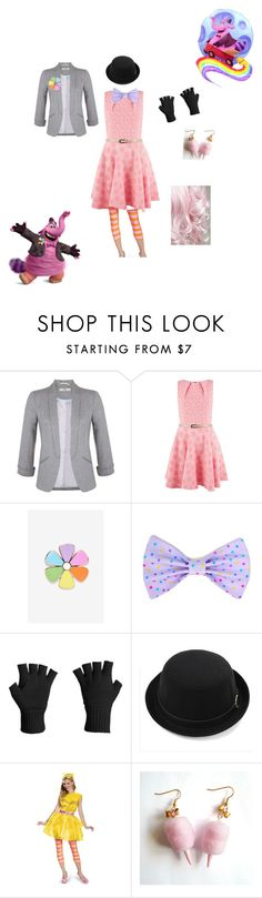 """""""Bing Bong"""" by pink-marshmallows ❤ liked on Polyvore featuring Miss Selfridge, Closet, Big Bud Press, Icebreaker and Glitter Pink"""
