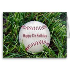 Shop Birthday with baseball Card created by dryfhout. 13th Birthday Wishes, Happy 24th Birthday, 19th Birthday, Birthday Bash, Birthday Parties, Birthday Balloons Clipart, Baseball Birthday, Birthday Ideas, Baseball Cards