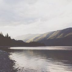 calmness of a lake