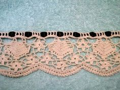 Free crochet edging pattern on ravelry