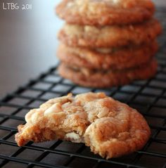 White Chocolate, Toffee and Coconut Cookies       Lick The Bowl Good: Cookies For A Friend