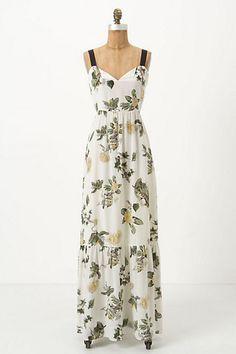 Hortensia Maxi Dress - Anthropologie.com