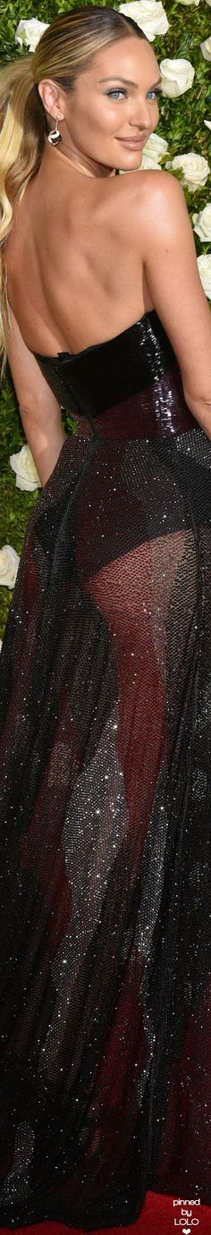 Candice Swanepoel 2017 Tony Awards