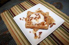 I need a waffle iron! - Vegan Blender Waffles