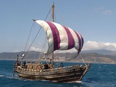 Phoenicia was built in 2008 to replicate an ancient Phoenician trading vessel that successfully achieved the first circumnavigation of Africa in 600 BC