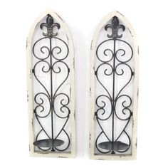 Teton Home Scroll Wall Sconces - Set of 2 - WD-005
