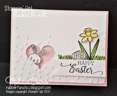 Happie Easter, Stampers!   Wishing you a blessed Easter filled with love and joy!     SU!pplies:  Stamps : Basket Bunch, Suite Sentiments, C...