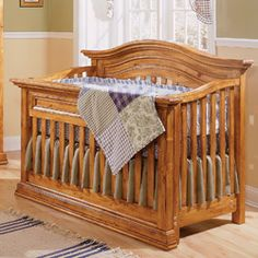 Sheffield Lifestyle Crib | Bonavita | Baby Furniture
