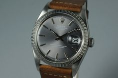 1978 Rolex DateJust 1603 with Gray Sigma Dial